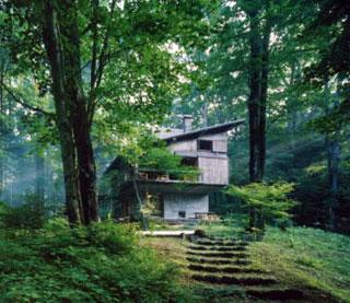 軽井沢の山荘1